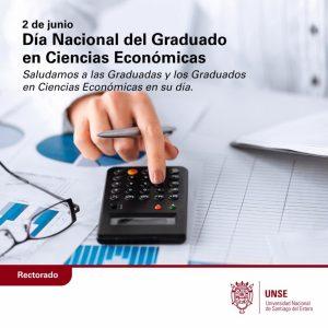 Día Nacional del Graduado en Ciencias Económicas