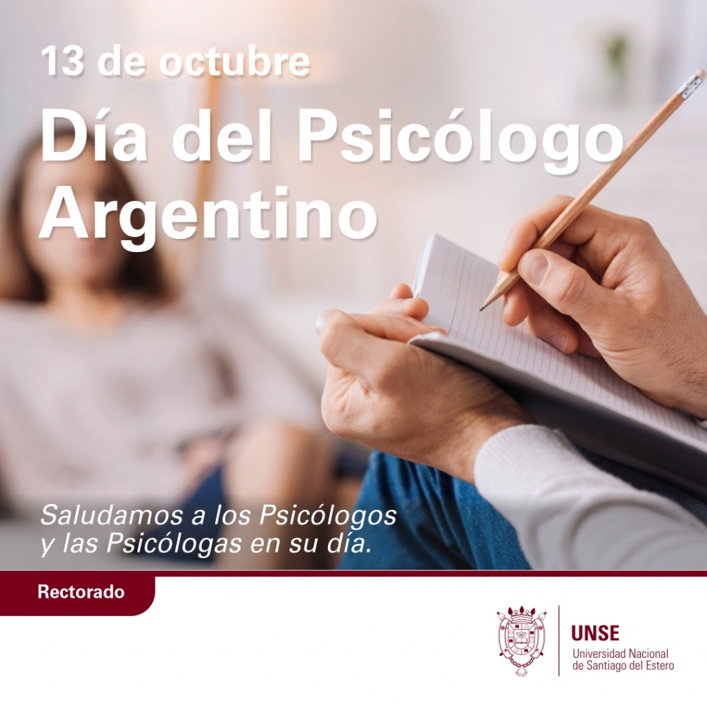 13 de octubre, Día del Psicólogo