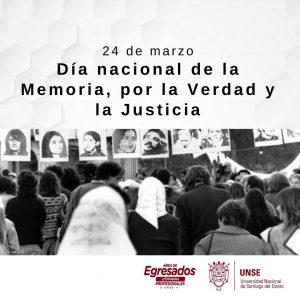 #24de marzo: Memoria, Verdad y Justicia.