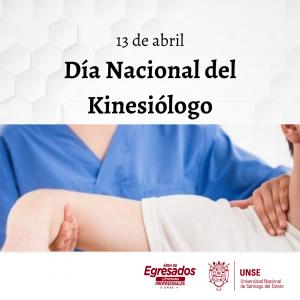 13 DE ABRIL-Día Nacional del Kinesiólogo