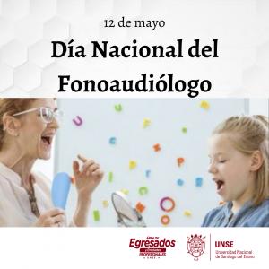 🔰 12 de mayo- Día Nacional de la Fonoaudióloga
