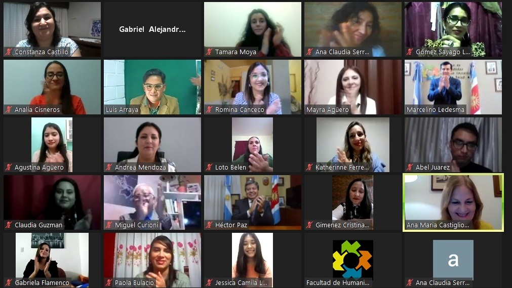 Acto de Colación Virtual Privada de la FHCSyS