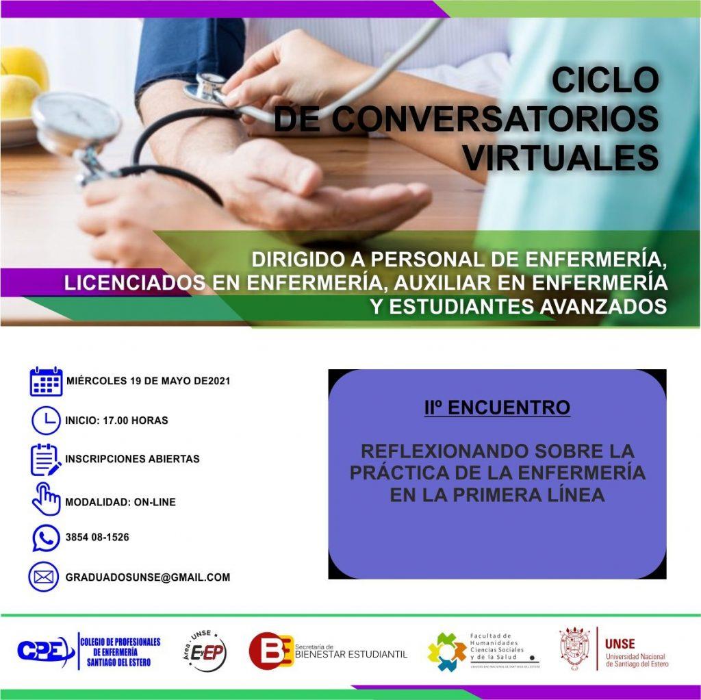 Ciclo de Conversatorios Virtuales