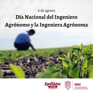🔰6 de agosto – Día Nacional del Ingeniero Agrónomo y la Ingeniera Agrónoma