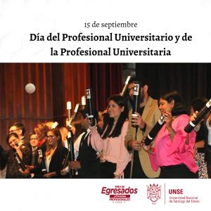 Día del Profesional Universitario y de la Profesional Universitaria