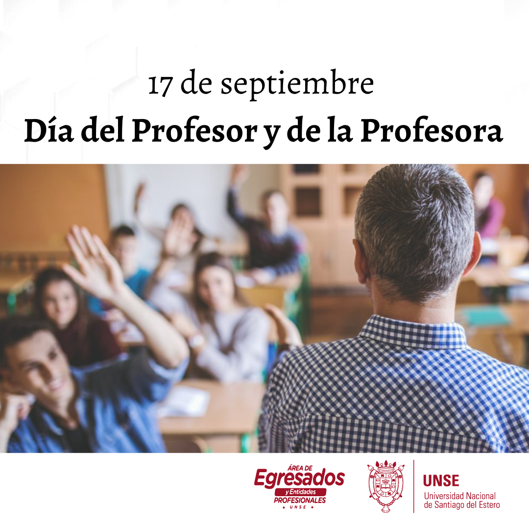 🔰17 de Septiembre: Día del Profesor y la Profesora