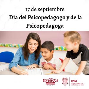 🔰17 de Septiembre: Día del Psicopedagogo y la Psicopedagoga